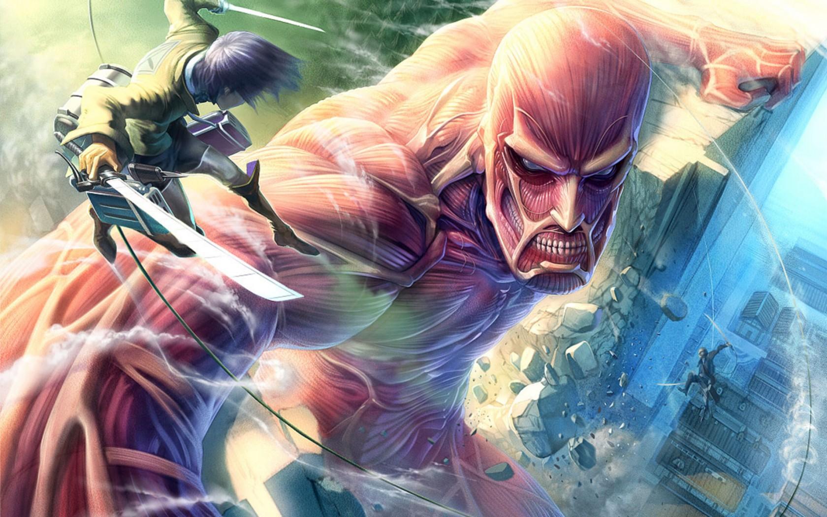 Атака титанов 2 сезон